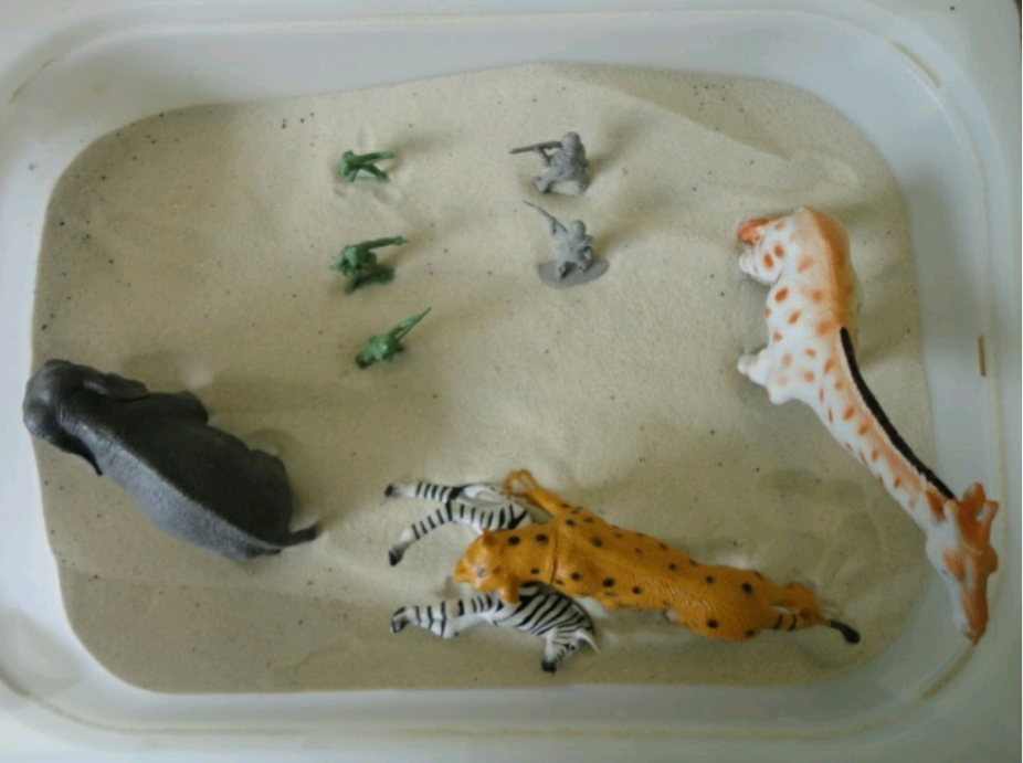 BLOG –  STAR PROJECT: THE BENEFITS OF SAND TRAY THERAPY